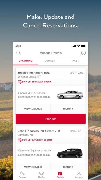 Avis - Car Rental screenshot-3