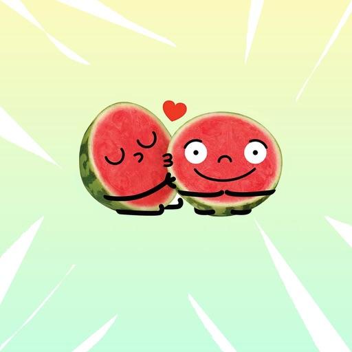 Watermelon Emojis download