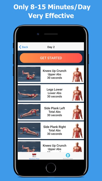 Lose Belly Fat - Abs Workoutのおすすめ画像5