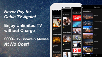 cancel FREECABLE TV: News & TV Shows app subscription image 1