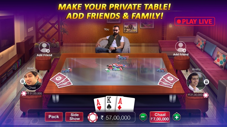 Teen Patti Gold (With Rummy) screenshot-4