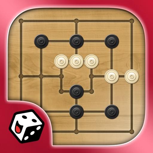 ナイン・メンズ・モリス -  ボードゲーム