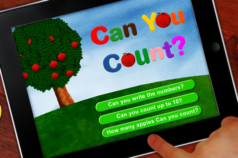 Learn to count with apples - náhled
