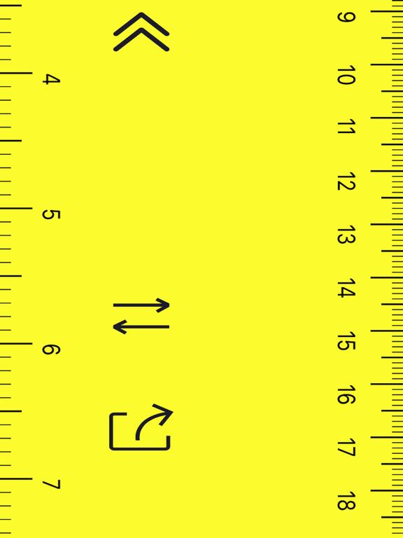 Unlimited-Length Visual Ruler Screenshots