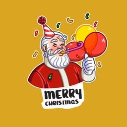 Happy Christmas Stickers !