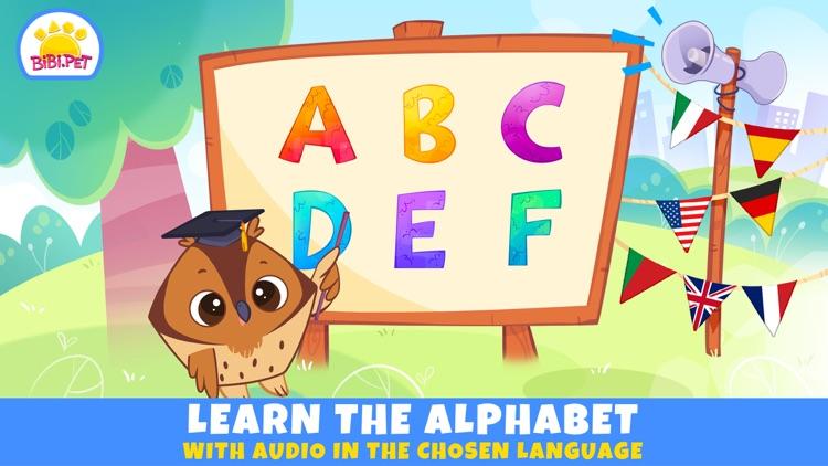 ABC Learn Alphabet for Kids screenshot-0