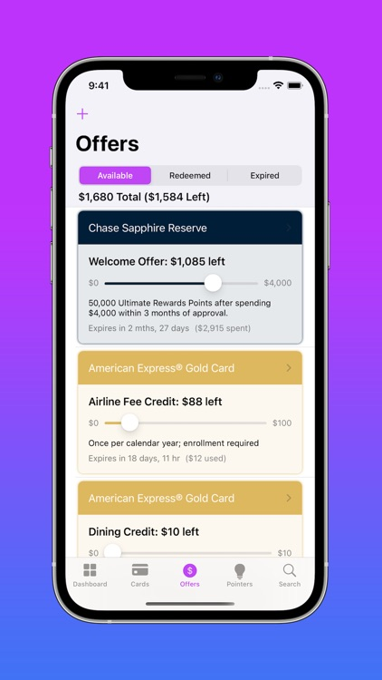 CardPointers for Credit Cards screenshot-5