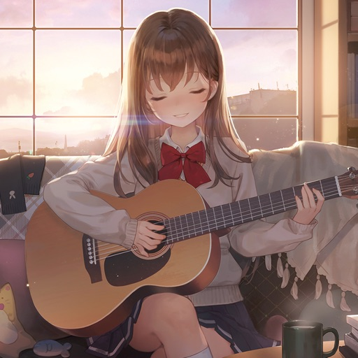 Guitar Girl:Relaxing MusicGame icon