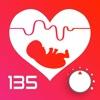 赤ちゃんの心拍数を聞く - iPhoneアプリ