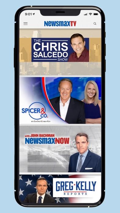 Newsmax TV & Web Screenshot
