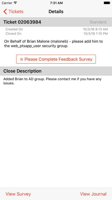 messages.download Engage Service Desk software