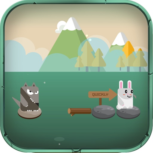Rabbit Escape-Water jump icon