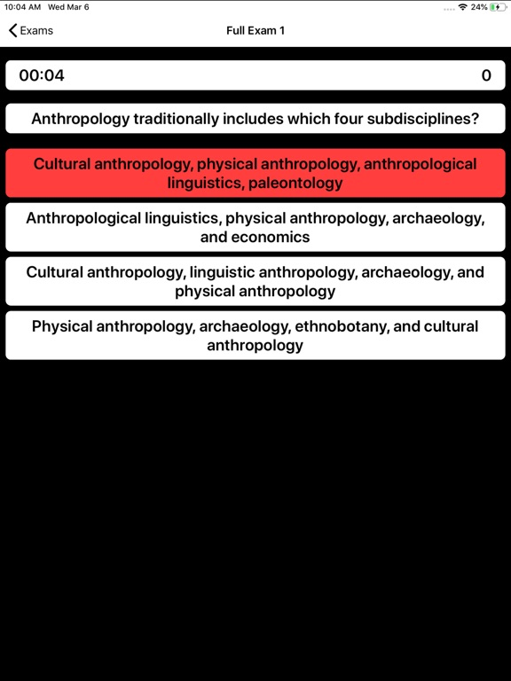 DSST Anthropology Buddy screenshot 11