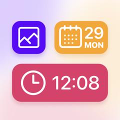 Widgets PRO - Photo Time Color