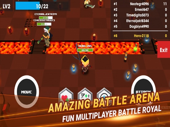 Heroes Battle Royale Arena screenshot 4