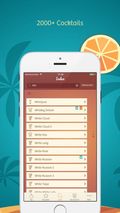 Cocktails - The Original screenshot one
