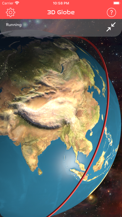 Screenshot #2 pour ISS Real-Time Tracker 3D