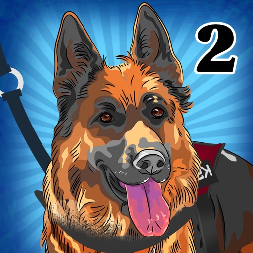 Rescue Dogs K9 II : The recruit police canine unit run to catch dangerous criminals - Free Edition