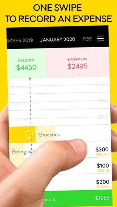 monthly 3 - personal budget screenshot three