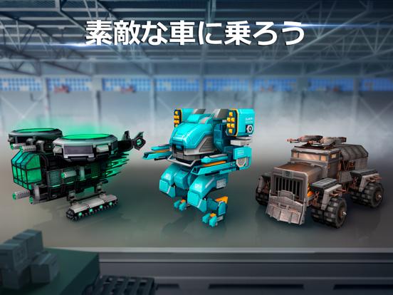 Blocky Cars: 銃撃ゲームと戦車と車のおすすめ画像5