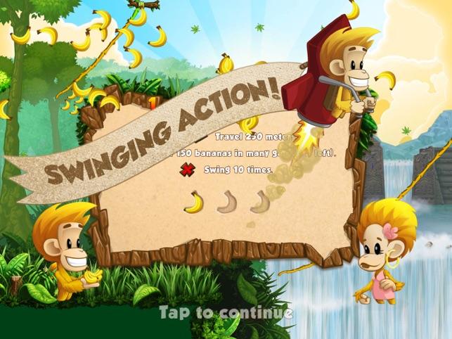 Benji Bananas: Run, Jump, Win, game for IOS