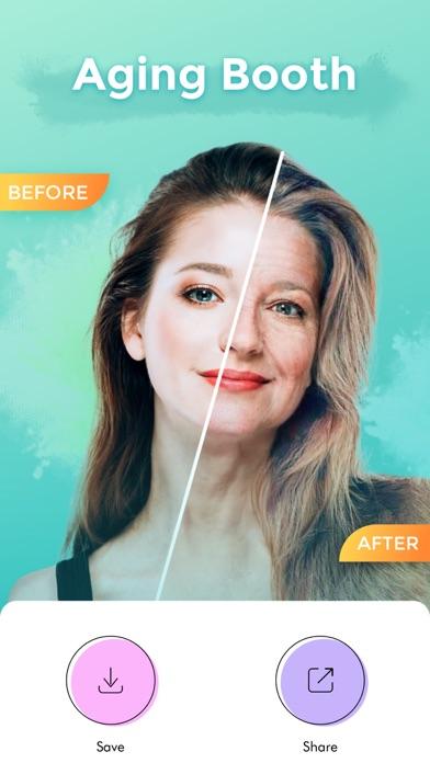 illus: Cartoon Face Hair Salon Screenshot