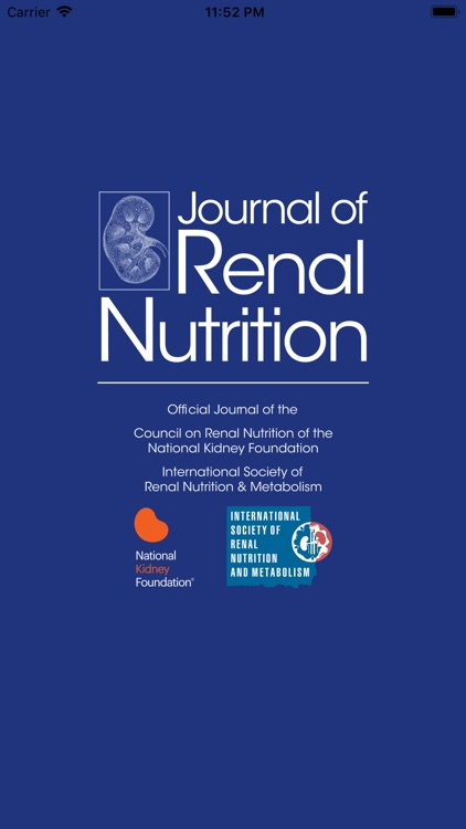 Journal of Renal Nutrition