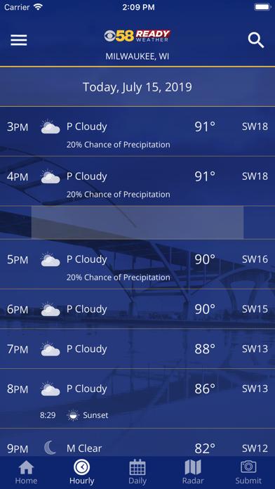 CBS 58 Ready Weatherのおすすめ画像2