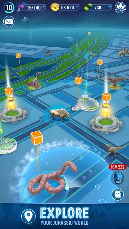 Jurassic World Alive screenshot-4