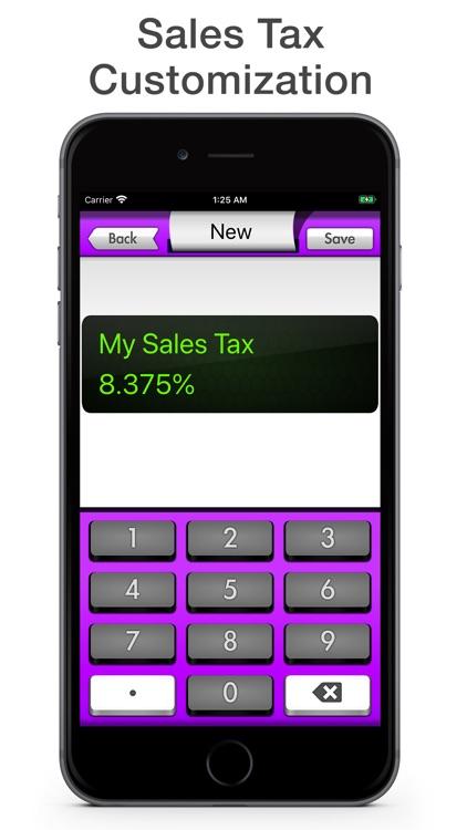 Sales Tax Calculator - Tax Me screenshot-3