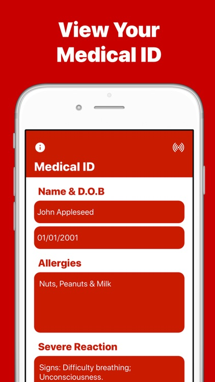 AllergyMe - Allergy Medical ID