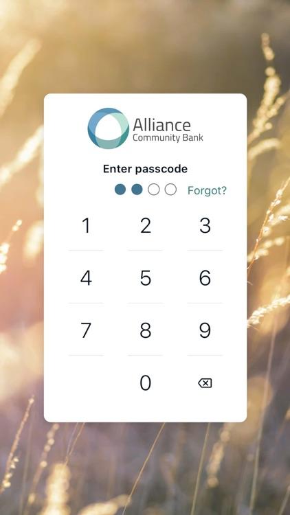 Alliance Community Bank App