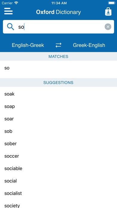 Oxford Greek Mini Dictionaryのおすすめ画像2