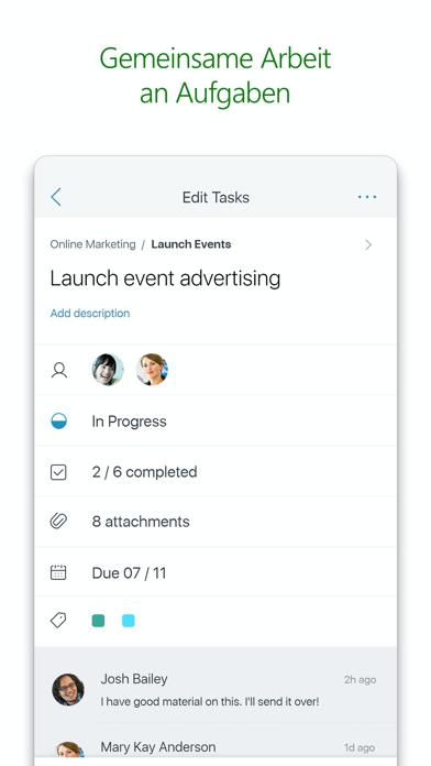 Microsoft PlannerScreenshot von 2