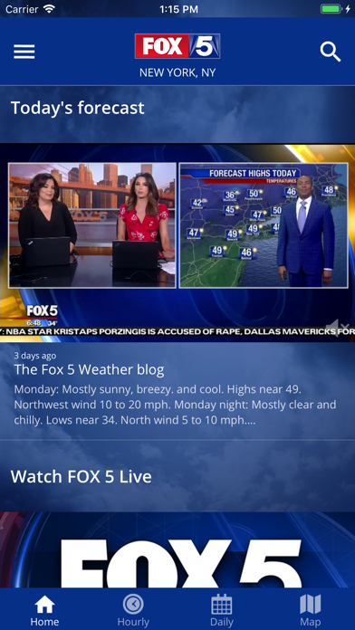 FOX 5: NY Weather & Radarのおすすめ画像2