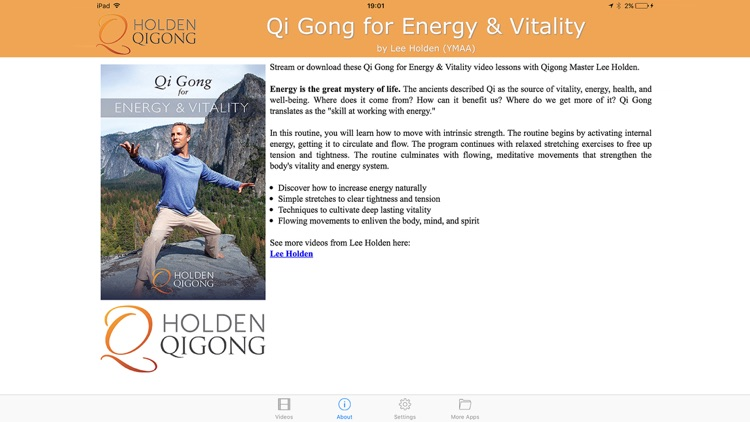 Qi Gong for Energy & Vitality by YMAA Publication Center, Inc