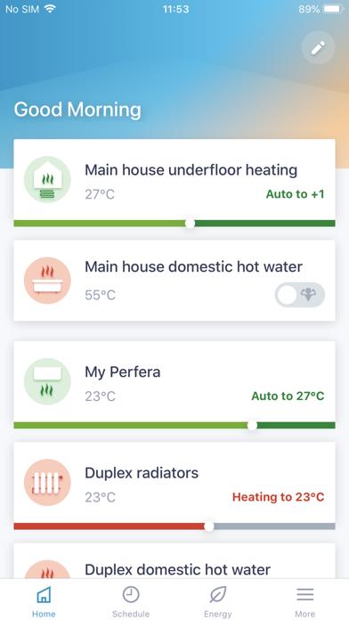 Daikin Residential Controllerلقطة شاشة1