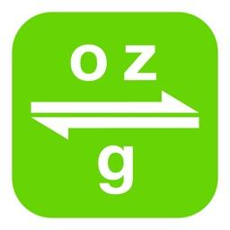 Ounces to Grams | oz to g
