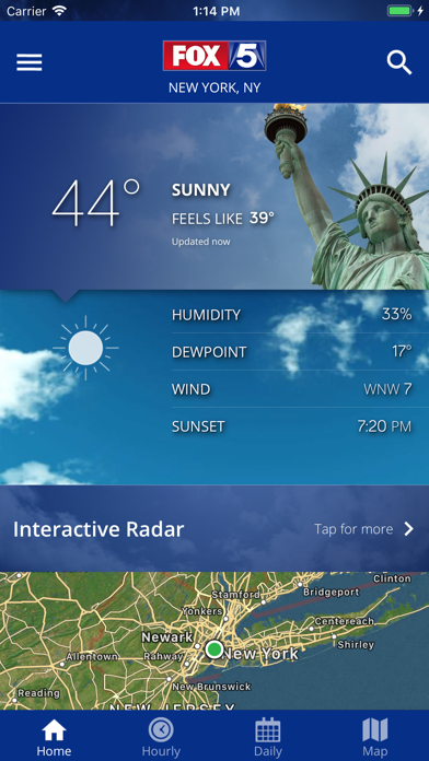 FOX 5: NY Weather & Radarのおすすめ画像1