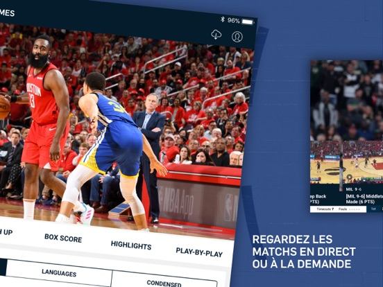 Screenshot #5 pour NBA Officiel : basket en live