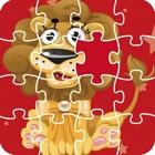 卡通拼图-小拼图游戏,动物认知 icon