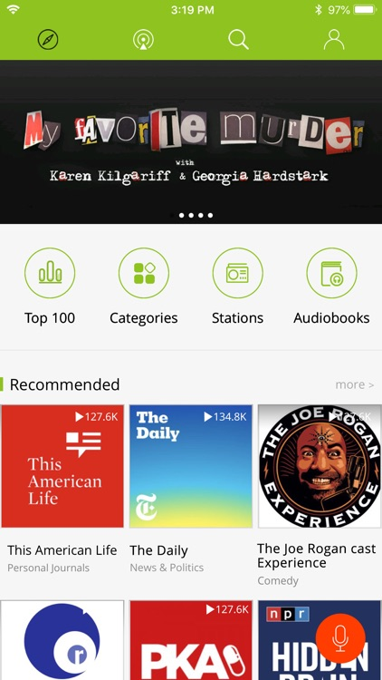 Podbean Podcast App & Player screenshot-0