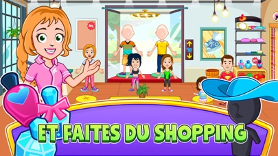 Screenshot for My Town : Beauty Spa Saloon in France App Store