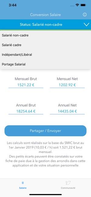 Calcul Salaire Brut En Net On The App Store