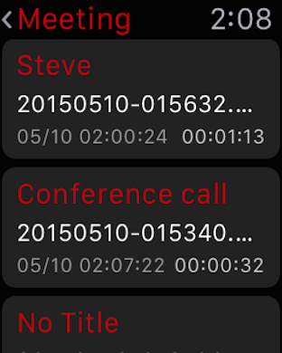 Screenshot #11 for Awesome Voice Recorder PRO AVR