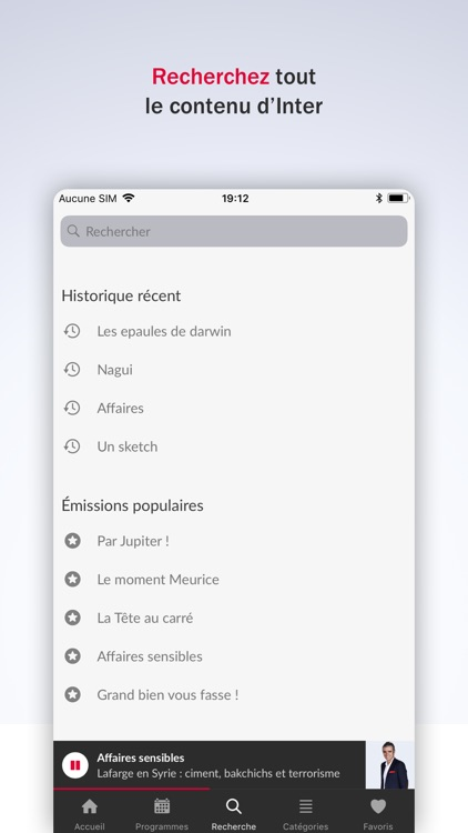 France Inter - radio, podcasts screenshot-7