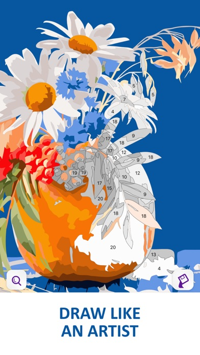 Color by Number Oil Painting screenshot 1