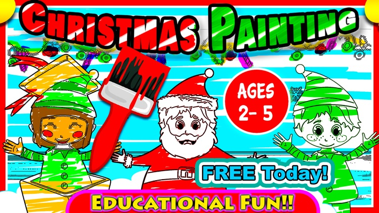 Xmas Coloring for boys & girls