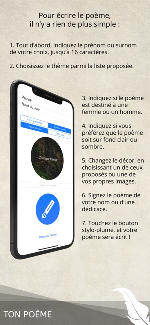 Ton Poème En App Store