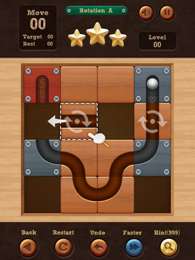 ‎Roll the Ball® - slide puzzle Screenshot